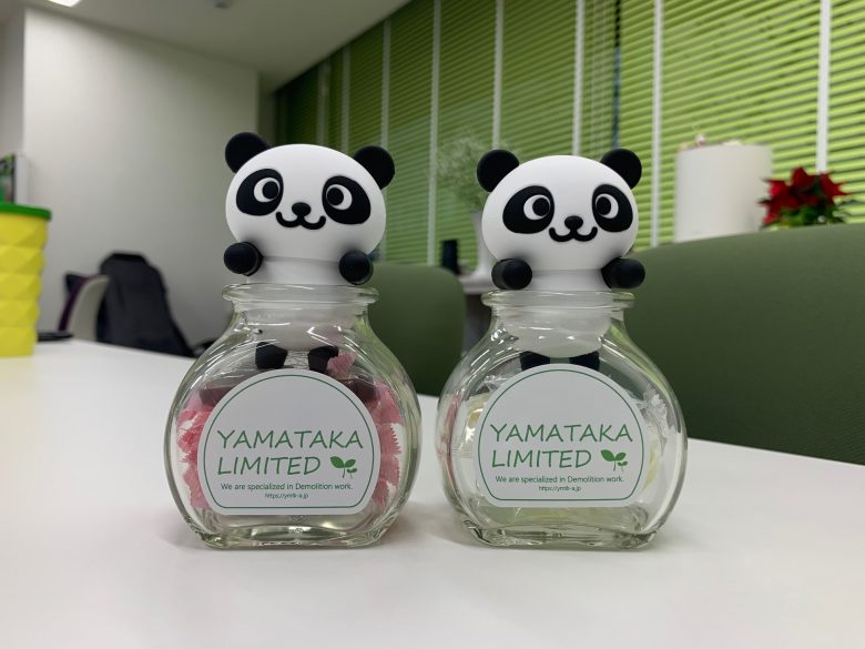 Our unique novelty items of 2020<br>ヤマタカノベルティ